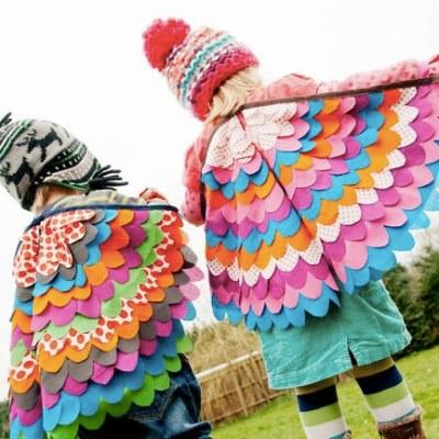 Dressing Up Hotness! Fairy / Superhero / Bird Wings by Big Bird's Boutique
