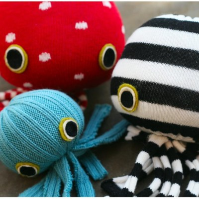 Make Your Own: No-Sew Socktopus
