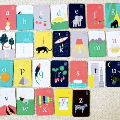 ABC Bilingual Flashcards by Deuz