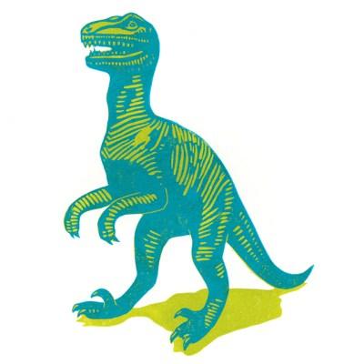 James Green dinosaur print