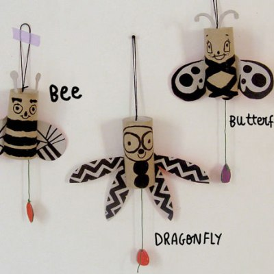 Make Your Own: Jumping Jack Bugs