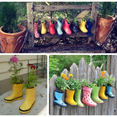 Weekend Inspiration: Recycling Wellies