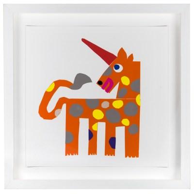 Alan Fletcher animal prints at Tate Modern