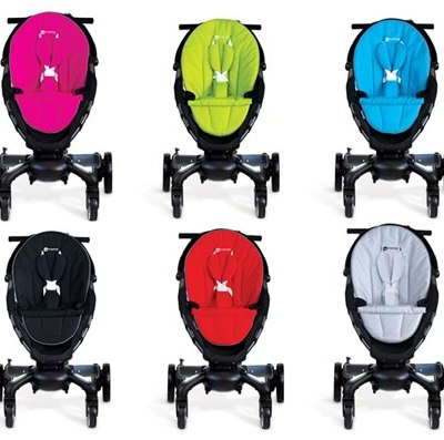 4Moms Origami stroller – it charges your phone too!