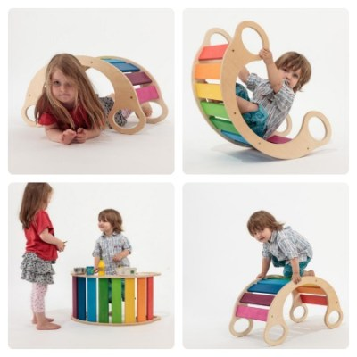 Swoon: Rainbow Rocker