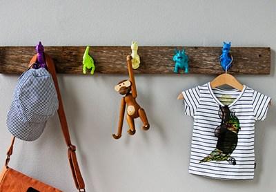 Weekend Inspiration: Dinosaur Coatrack