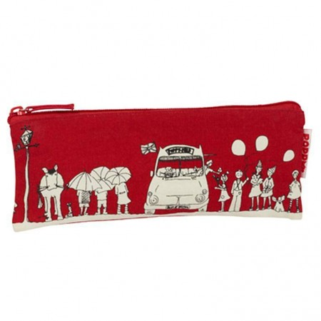 Poppy pencil case