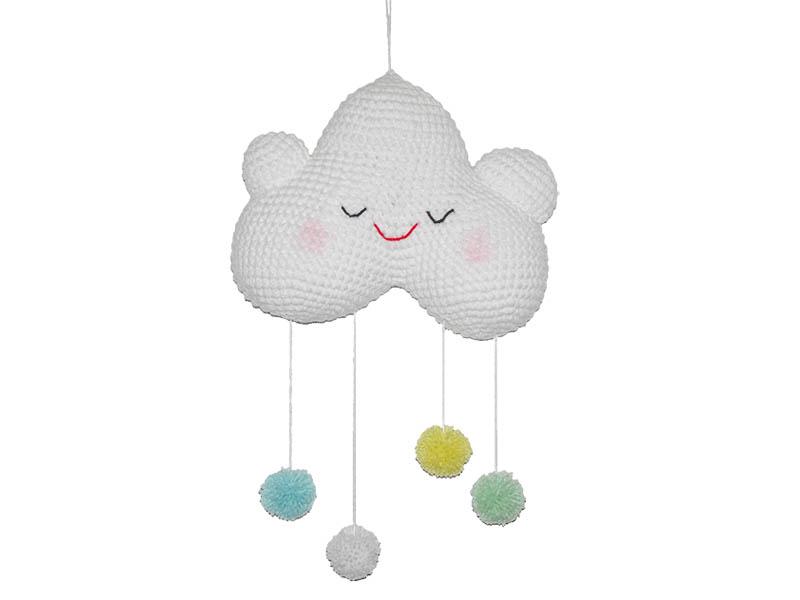 2 Cute 2 Be True Happy Baby Cloud mobile