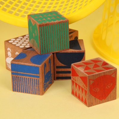 The Poundshop Totem decorative blocks