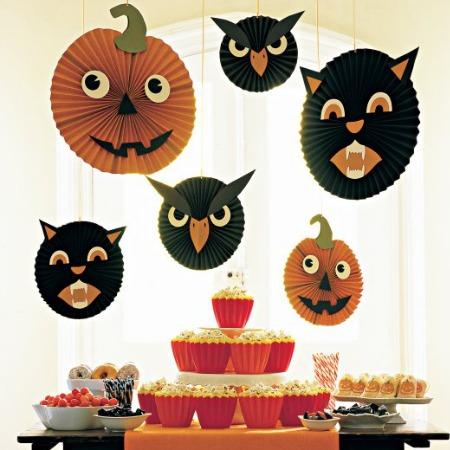 Halloween Hang Ups from Martha Stewart