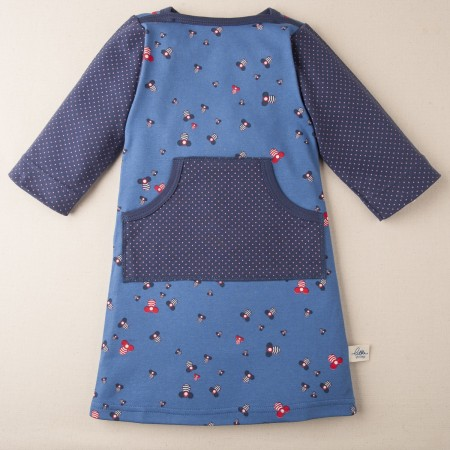 Little Shrimp bee dress