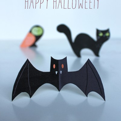 Cool printable: HappyThought Halloween decorations