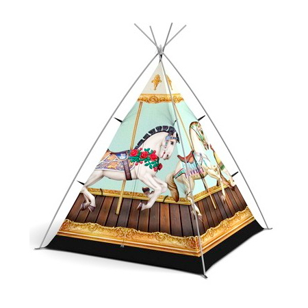 Little Campers 'Hold Your Horses' teepee