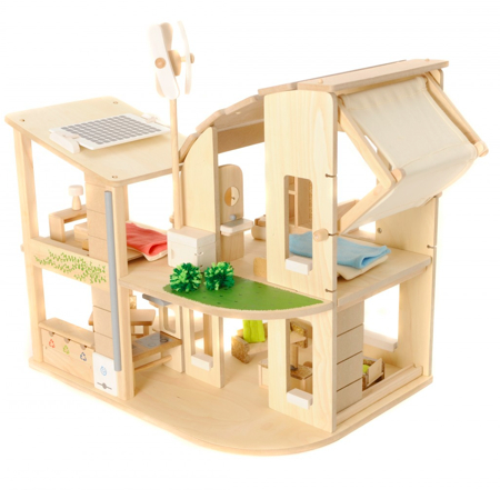 Plan Toys Green Eco Dolls House