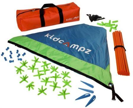 Kidcampz multi-shape play tent