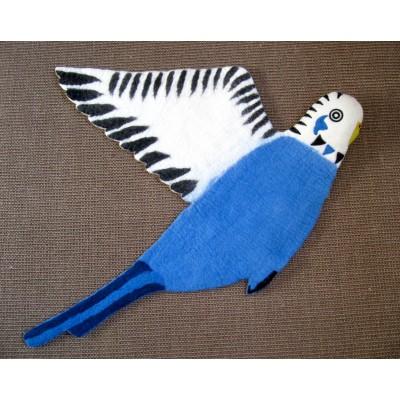 Sew Heart Felt Bert the Budgie rug
