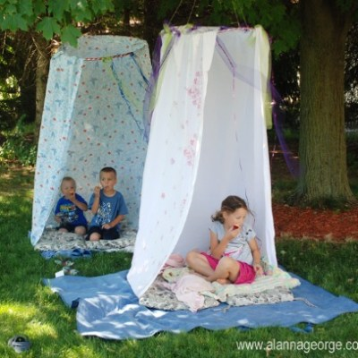Make your own: hula hoop hideout