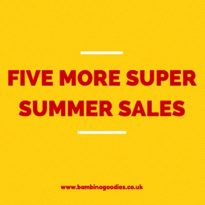 Five more super summer sales