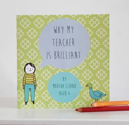 Lou Brown Designs personalised book