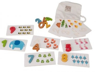 Hot Buy of the Day: Plan Toys Numbers 1-10