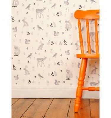 Helen Gordon Woodland Animals wallpaper