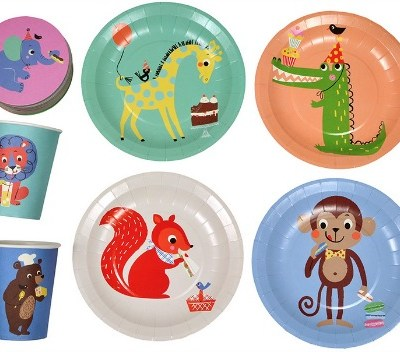 Party Animals partyware from Ketchup on Everything