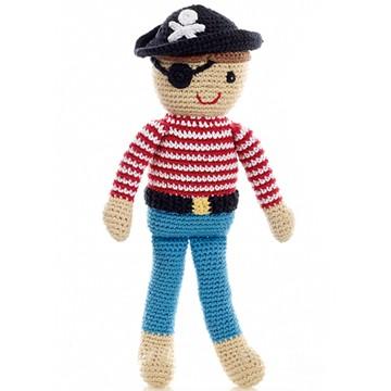 Crochet Pirate Doll