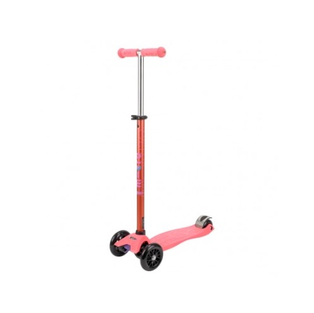 Limited edition Maxi Micro Scooter in coral pink