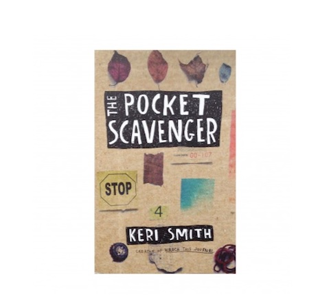 The Pocket Scavenger book by Keri Smith