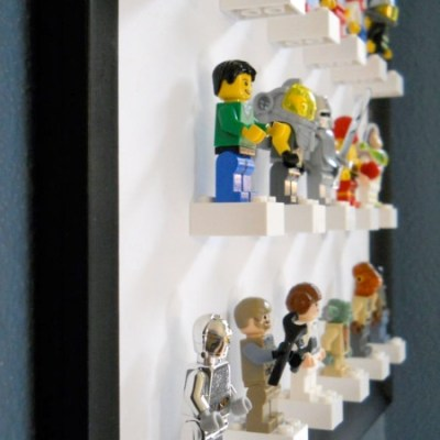 Make Your Own: Lego figure display