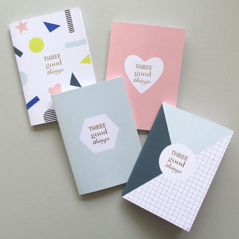 Three Good Things Notebooks