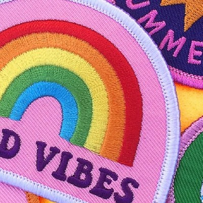 Good Vibes Patch by Kitiya Palaskas