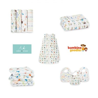 Giveaway: over £150 worth of aden + anais muslin goodies