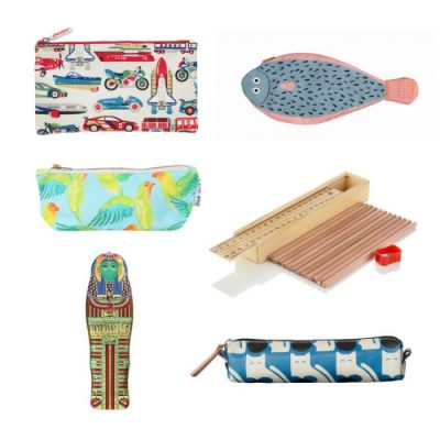 Back to school: perfect pencil cases
