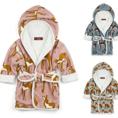 Wanted: Doe-A-Deer (and fox and stag) bathrobes at Fox Organic Kids