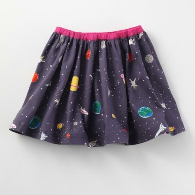 Hot on the high street: Boden space skirt