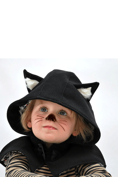 Kids cat cape, £40, Olive & Vince