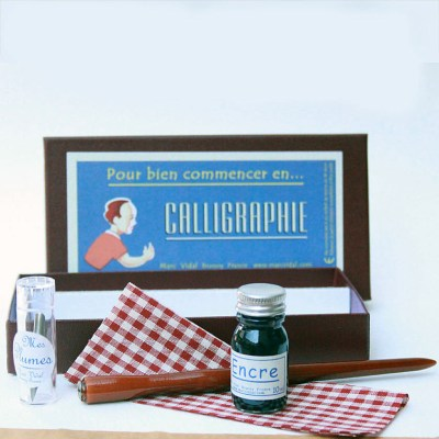 Hot buy of the day: Marc Vidal Calligraphy Set