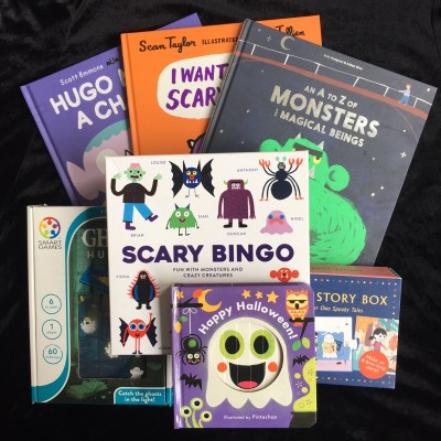 Halloween books and games