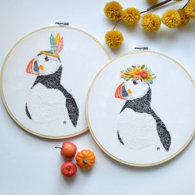 French Mango Embroidery Kits