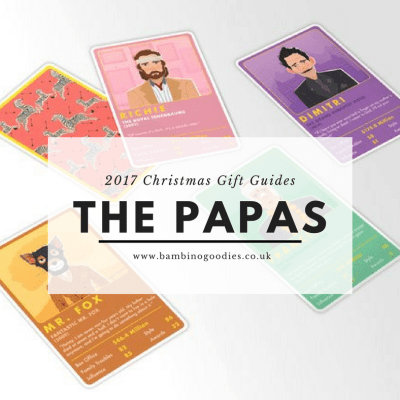 Christmas Gift Guide 2017: The Papas