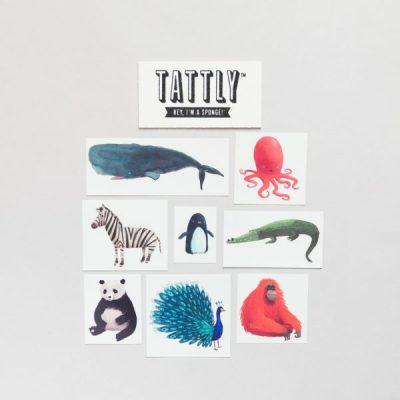 Oliver Jeffers x Tattly