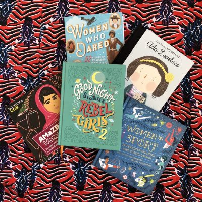 Empowering children's books for International Women's Day