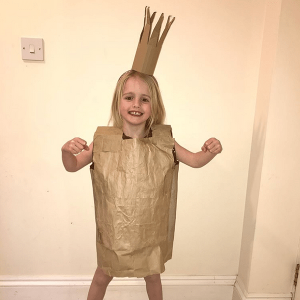 The Paper Bag Princess