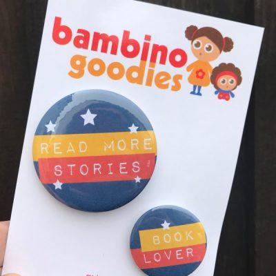 Book Lover badge sets