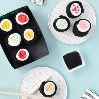 Make Your Own: Sushi Socks