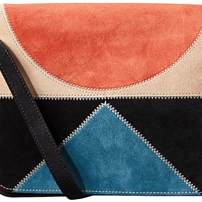 For the mamas: Suede Orla Kiely Rosemary Bag