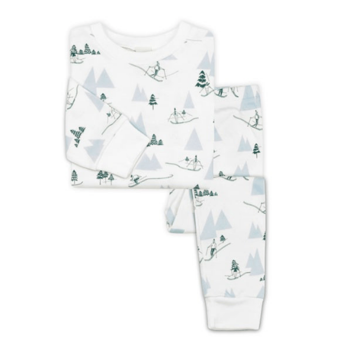 Alpine Adventure Pyjamas, £44, Sleepy Doe