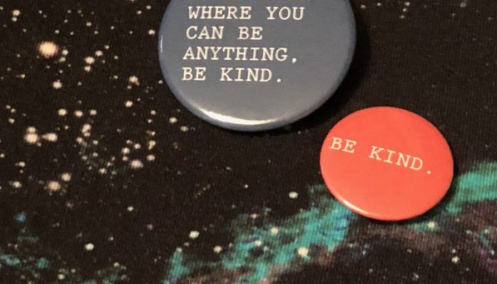 Be Kind badges for World Kindness Day
