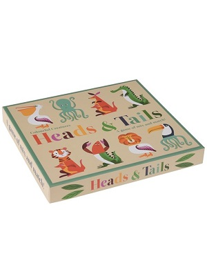 Colourful Creatures Head & Tails Game